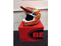 Bell Moto 9 Flex Jeremy Mcgrath Replica Motocross helmet size medium only one ride old!