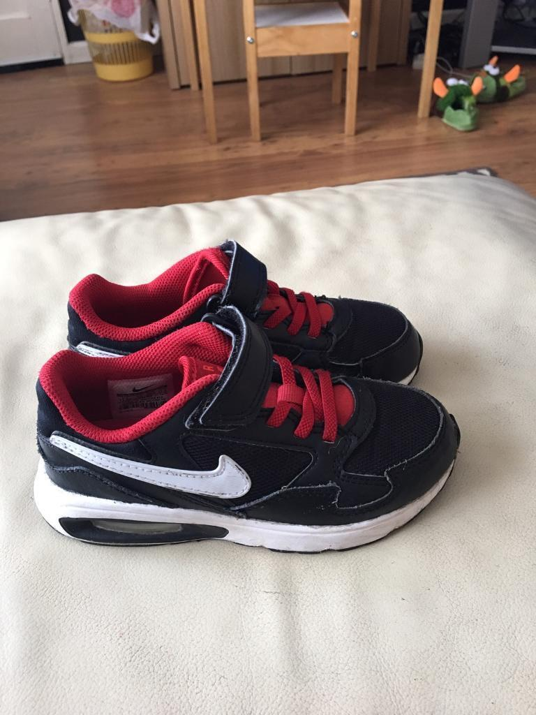 Childrens Nike Air Max trainers size 11