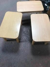 Beech Wooden Coffee Tables