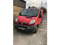 Spares or repairs!!!! Vauxhall Vivaro 2005 1900 CC Panel van