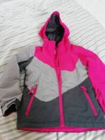 Girls crane waterproof coat
