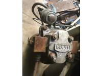 12 volt. Hydraulic pump