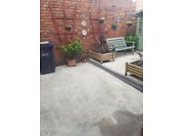 i have 2 bedroom flat in pelaw and need to rent one room out, very close to metro, aldi, with garden