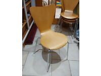 Dining table chairs X 4