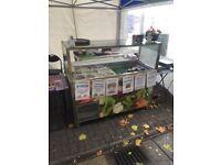 Salad bar/m fridge