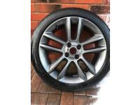 Corsa SRI Alloy Wheel & Tyre