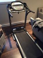 Treadmill** hardly ever used!
