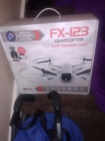 FX123 quadcopter white