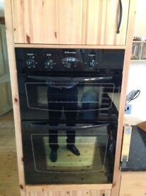 Electrolux double electric oven excellent condition.