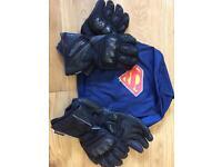 Men's motorcycle gloves (x2 pairs)
