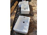 Butler / Belfast Sinks x 4 - Used As Garden Planters