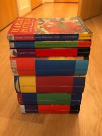 Complete set of Harry Potter books (1-7) - Some First Editions!
