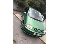 For sale my vw Sharan 1.9 Tdi 6 speed manual 130 bhp sport