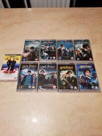 Psp films all 8 Harry potter 6 new