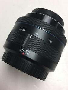 Samsung 20-50mm II f3.5-5.6 ED i-Function lens like new used one wedding with warranty