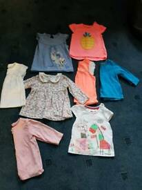 Girl 3-6month summer bundle