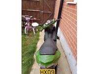 Spares or repairs 2009 peugeot speedfight 50cc