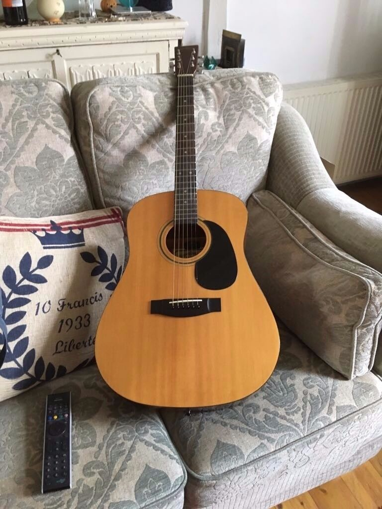 Sigma DM1 six string acoustic guitar