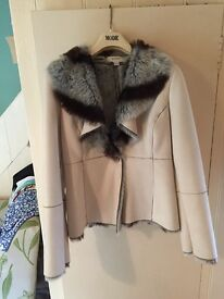 Next fur jacket Size 10 never worn