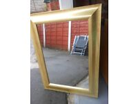 LARGE WALL MIRROR IN PERFECT CONDITION