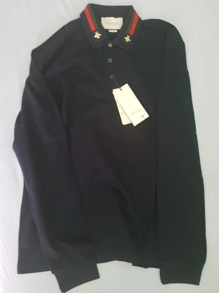 Gucci Long Sleved Polo Top