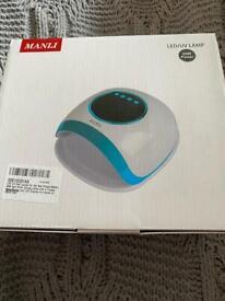 New in box LED UV Nail Lamps for Gel Nail Polish,MANLI 54W Nail Dryer collect sherwood