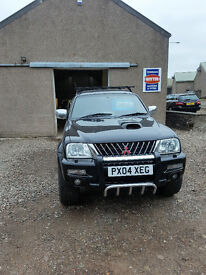 Mitsubishi L200 Warrior Double Cab pick Up £2650 No VAT