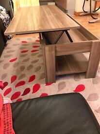 Coffee folding table