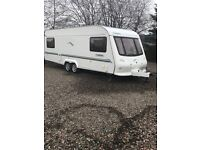 2003 Elddis tweed explorer 4 berth fixed bed Excellent condition
