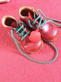 Patent hot pink kickers