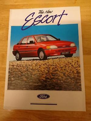 1990 Ford Escort Brochure