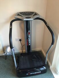 Confidence fitness Vibrating plate hardly used