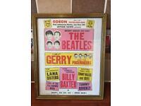 Beatles Poster - 1963
