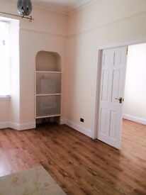 Two bedroom unfurnished first floor flat to rent in centre of Dalkeith