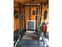 Squat rack/cage