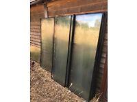 20 DOUBLE GLAZED GLASS PANELS / WINDOWN