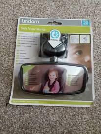 Lindam safe view mirror