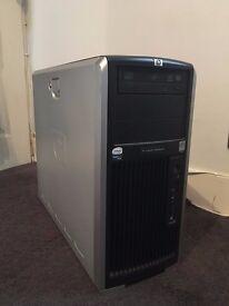 HP XW8600 server 1 x X5450 3GHz Quad Core, 32GB RAM, 1TB, W7 Workstation