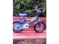 2 boy & girls 3-5 yrs bikes