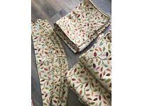 Curtains, Glava pattern, 2 pairs