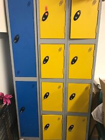 Lockers for staff