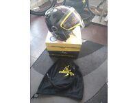 Christmas gift! Scorpion exo 200 size M black open face helmet. Brand new RPR £99