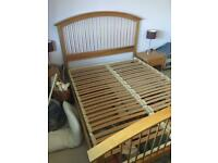 M&S Kingsize bed and mattress