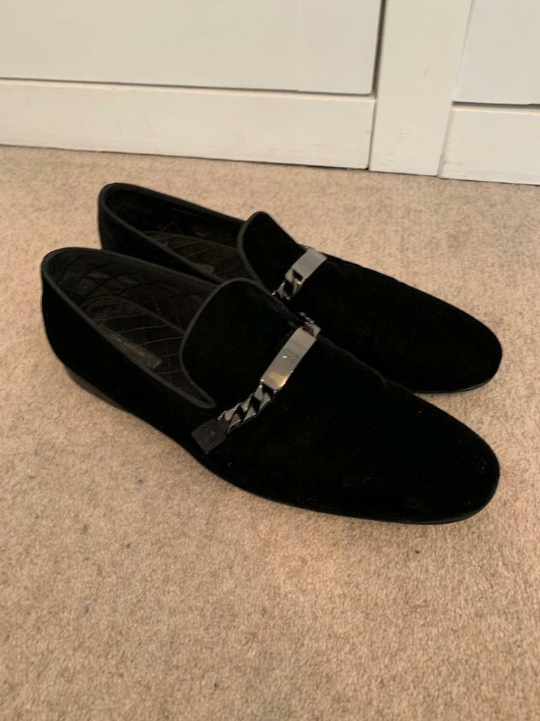 3241be8acbae Louis Vuitton Velvet Loafers 9 43