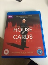House of Cards Trilogy DVD (UK)