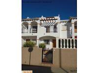 Costa Blanca, Spain. Townhouse. Sleeps 4, A/C, English TV, Wi-Fi (SM011)