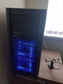 Custom Built Gaming PC - Overclocked CPU with WaterCooling Block - X4 gaming keyboard + mouse