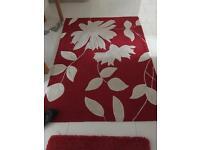 Modern rug 6 x 4 good condition
