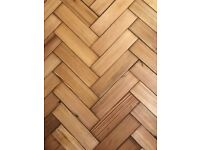 Reclaimed Pitch Pine Parquet - 200 m2 in stock!