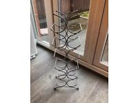 Silver wine rack in perfect condition